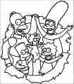 The Simpsons Coloring Page 168