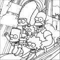 The Simpsons Coloring Page 169