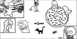 The Simpsons Coloring Page 176