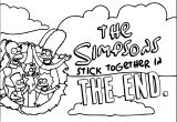 The Simpsons Coloring Page 183