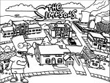 The Simpsons Coloring Page 185