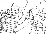 The Simpsons Coloring Page 195