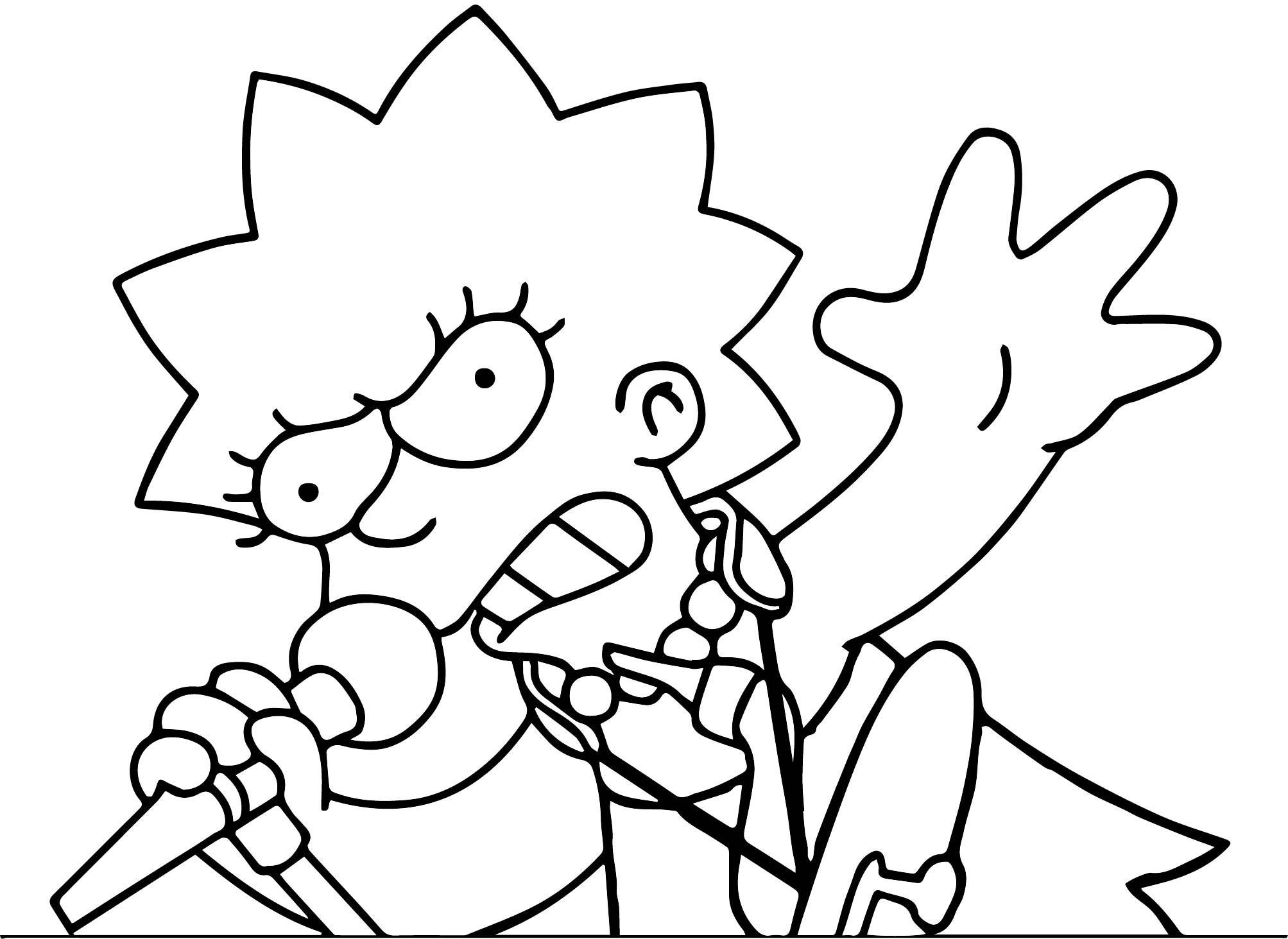 The Simpsons Coloring Page 197