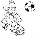 The Simpsons Coloring Page 201