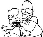 The Simpsons Coloring Page 204