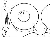The Simpsons Coloring Page 206