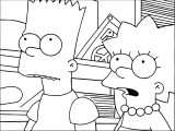 The Simpsons Coloring Page 208