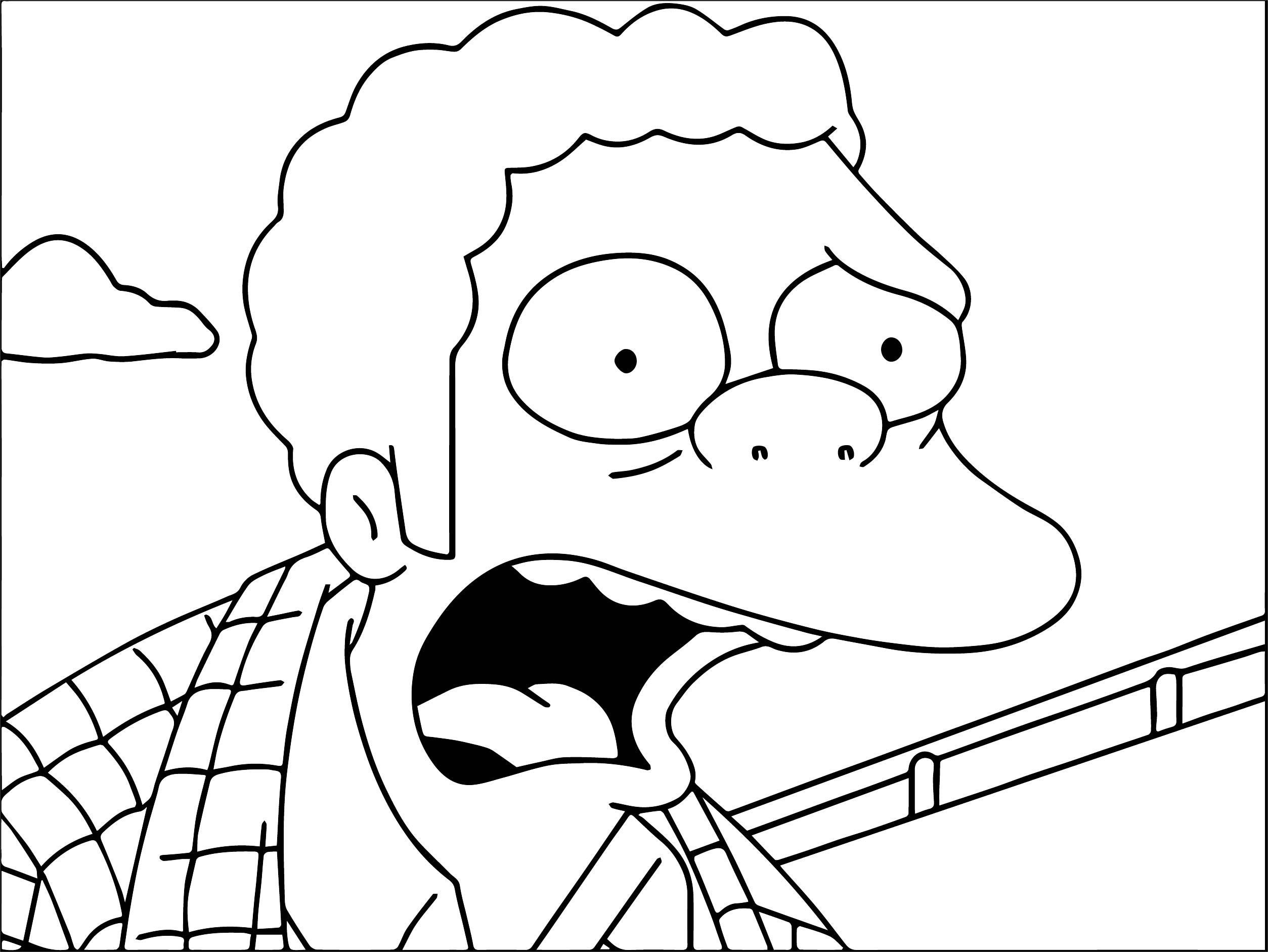 The Simpsons Coloring Page 210
