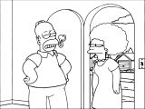 The Simpsons Coloring Page 211