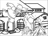 The Simpsons Coloring Page 215