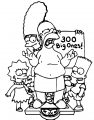 The Simpsons Coloring Page 216