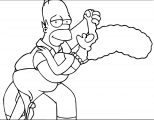 The Simpsons Coloring Page 226
