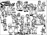 The Simpsons Coloring Page 227