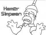 The Simpsons Coloring Page 230