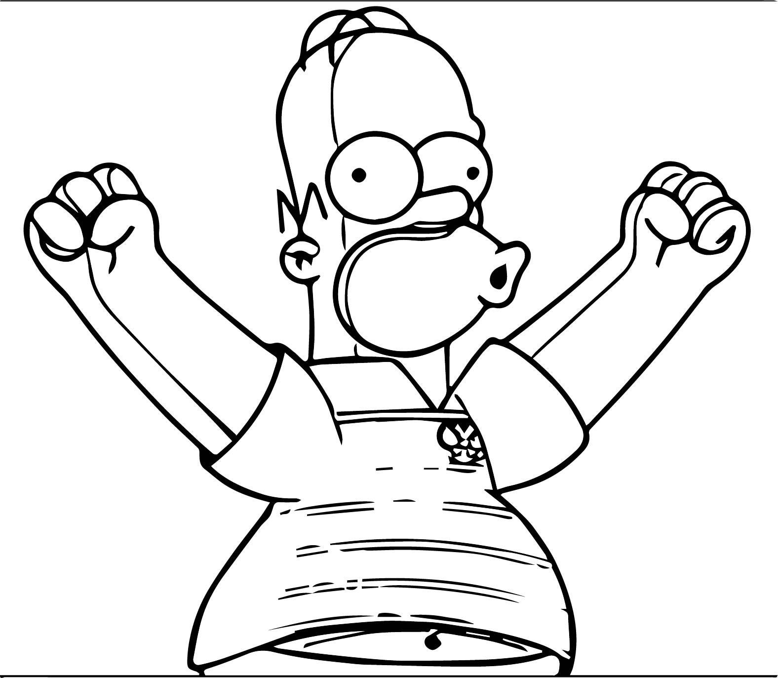 The Simpsons Coloring Page 231