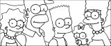 The Simpsons Coloring Page 232