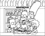 The Simpsons Coloring Page 235