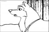 balto dog coloring page (1)