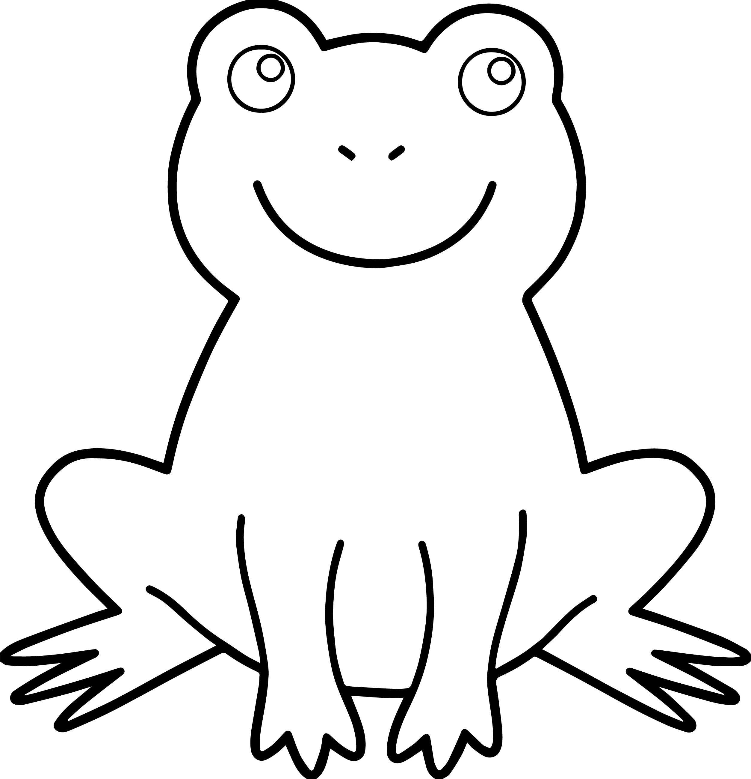 frog coloring page wecoloringpage 126