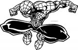 spider man big hd coloring page