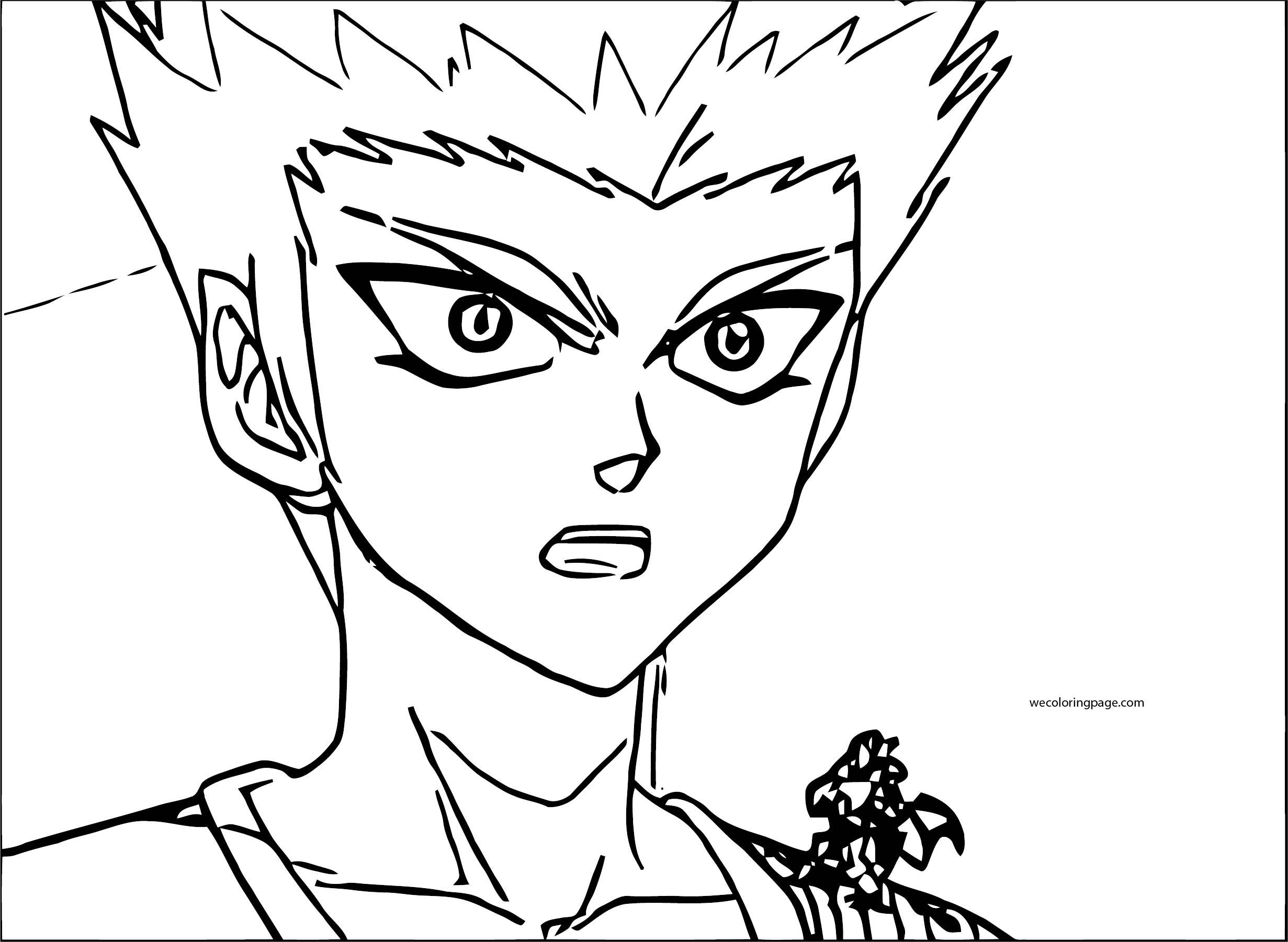 Bakugan Gundalian Invaders Episode Coloring Page