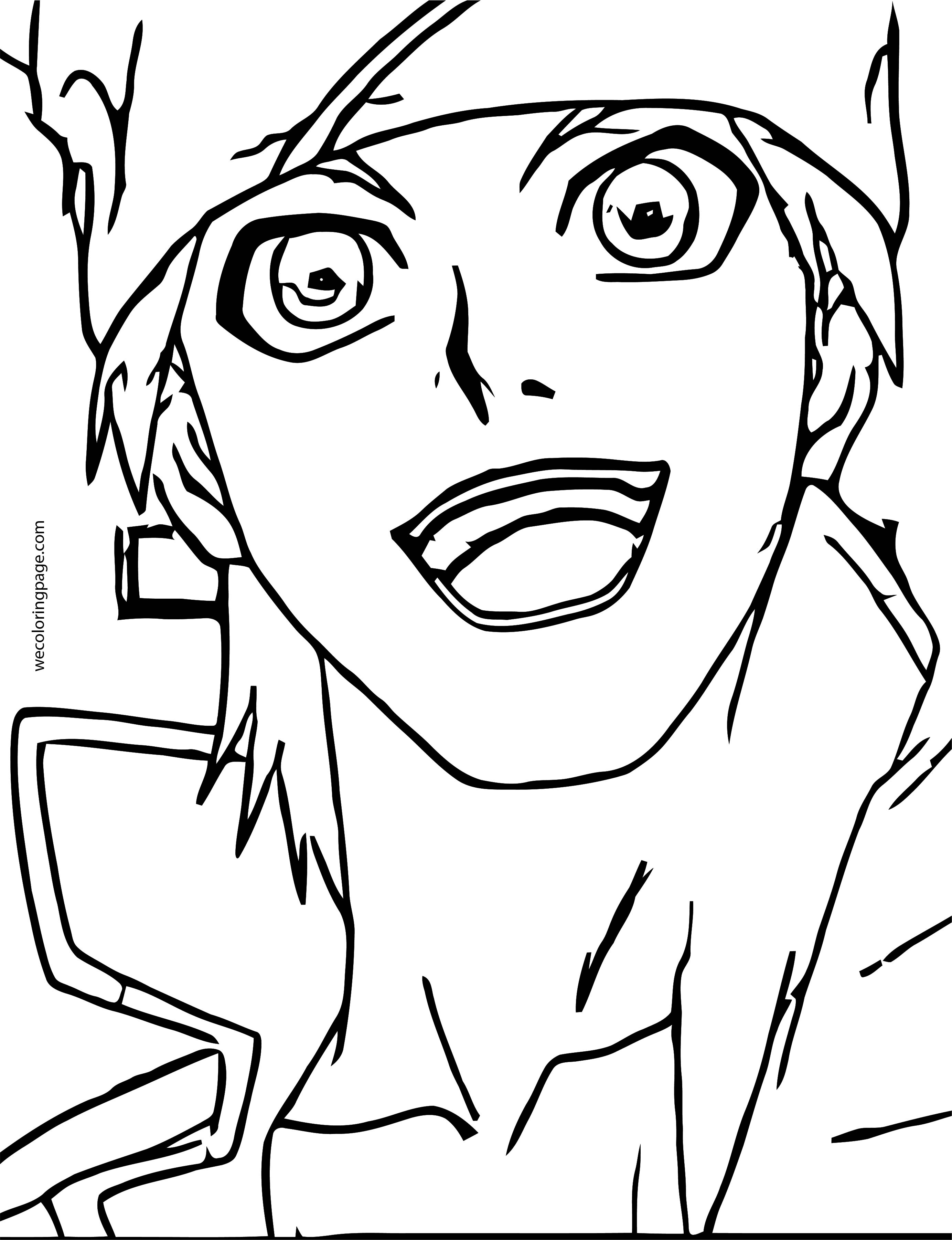 Bakugan New Vestroia Face Coloring Page