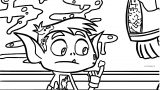 Beast Boy Booger Coloring Page