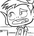 Beast Boy Image What Coloring Page