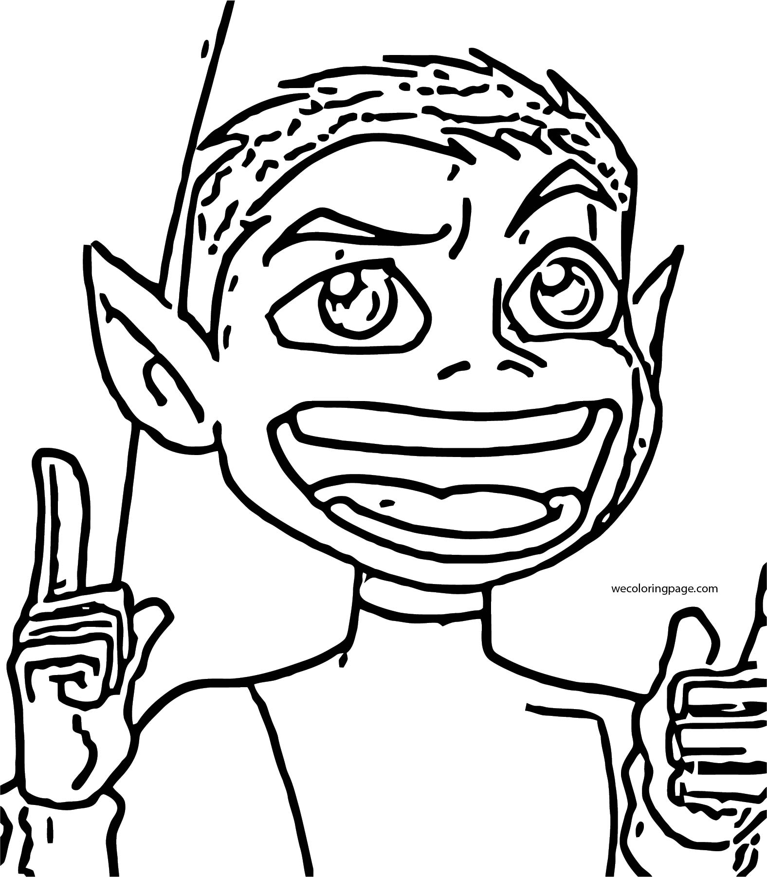 Beast Boy Teen Titans Idea Coloring Page