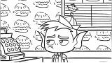 Beast Boy Unammused Coloring Page