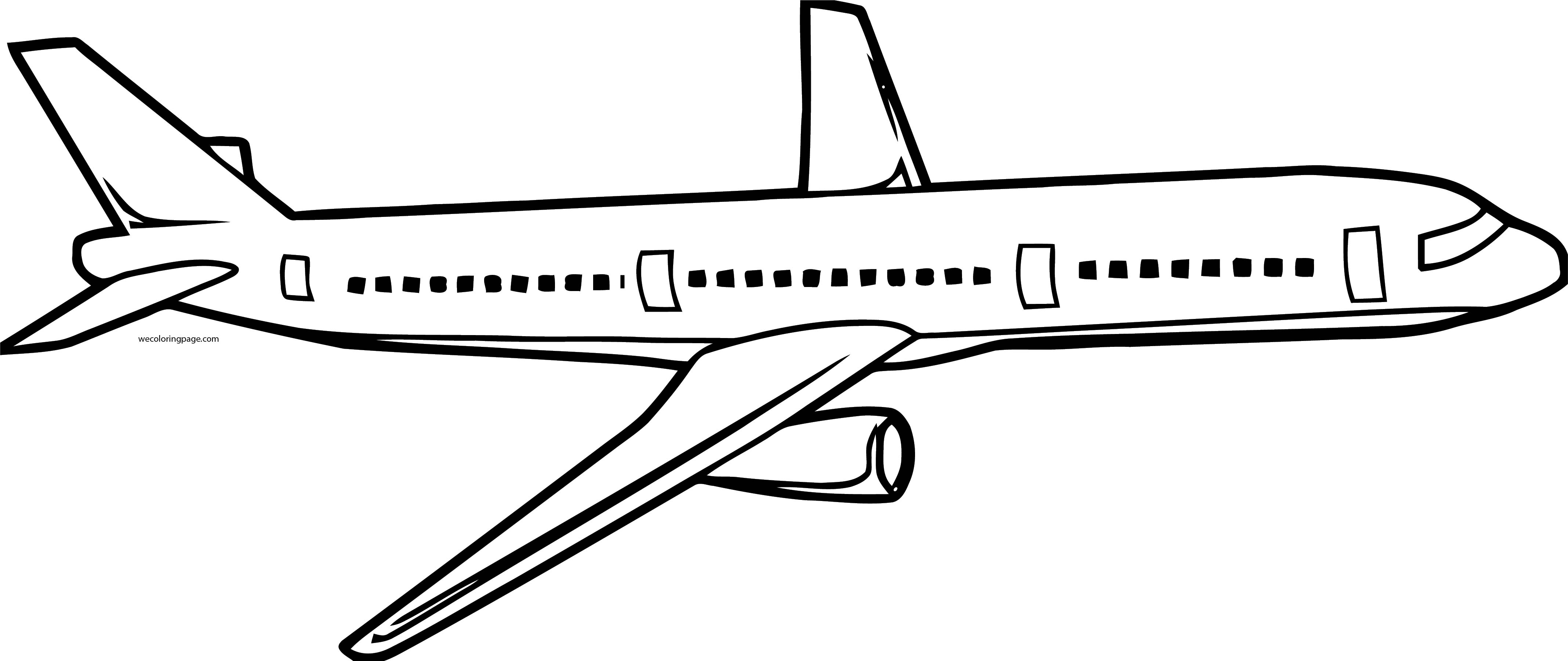 But Plane We Coloring Page