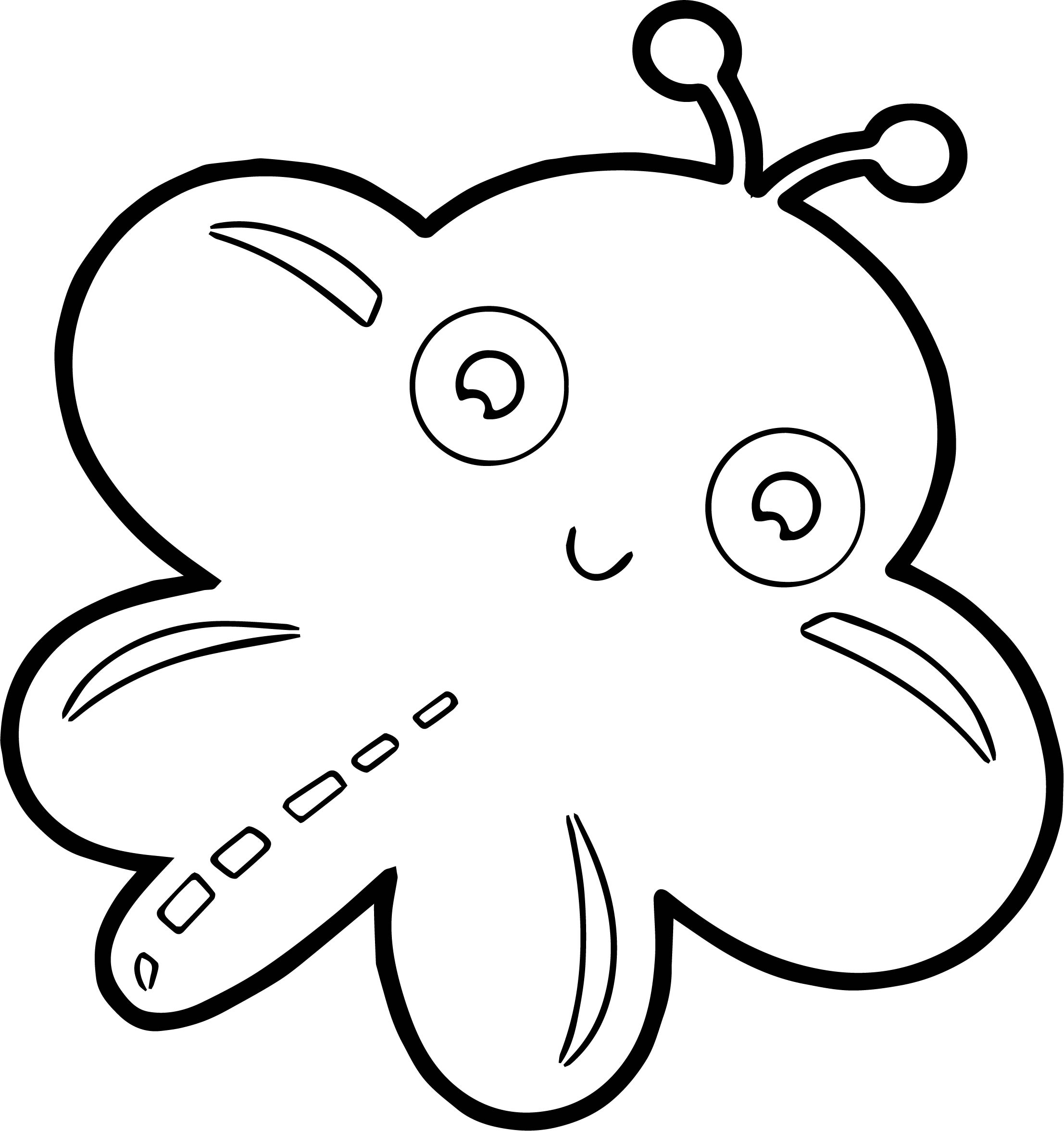 Butterfly Coloring Page 04