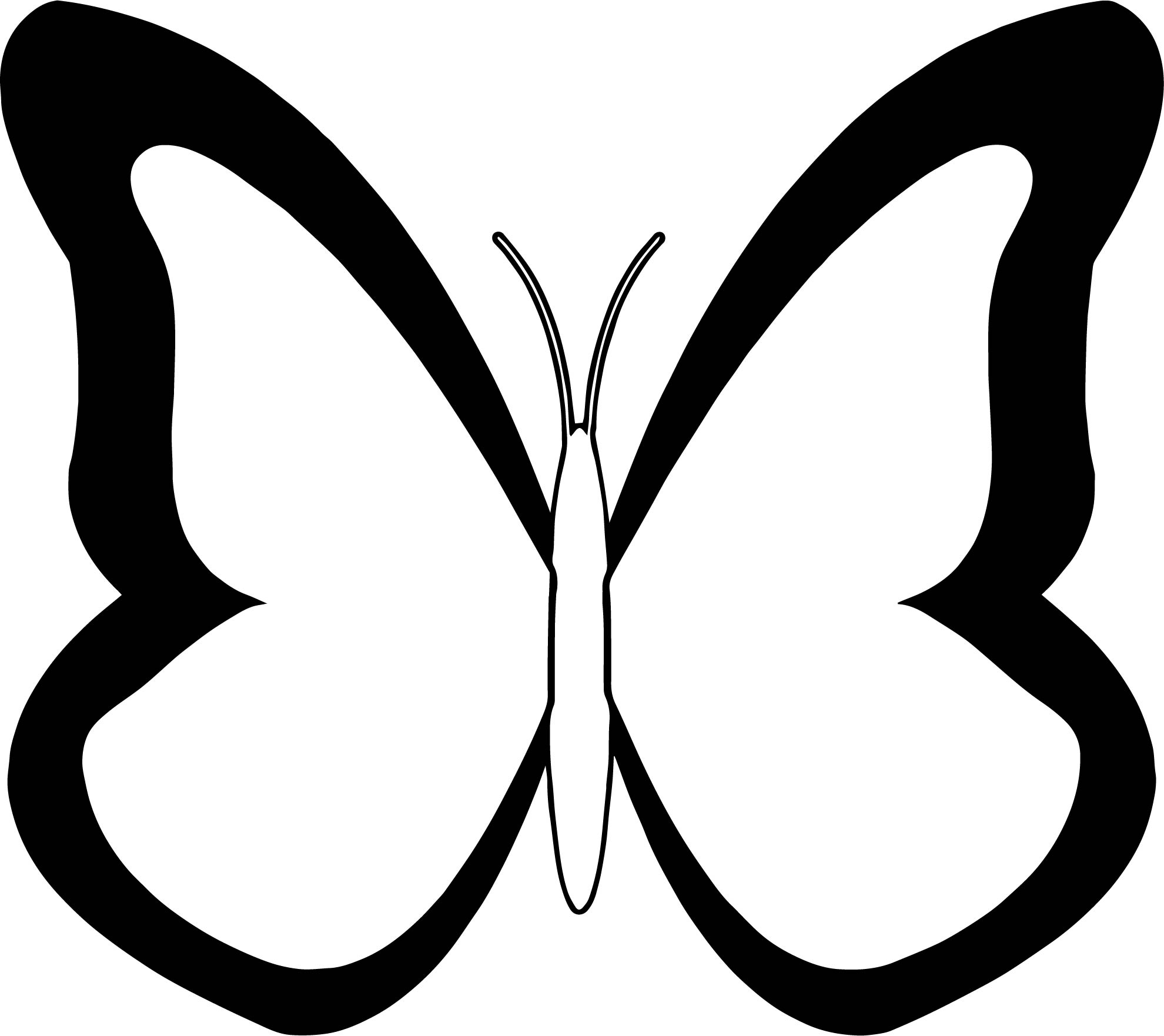 Butterfly Coloring Page 18