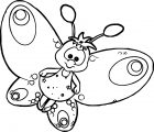 Butterfly Coloring Page 19