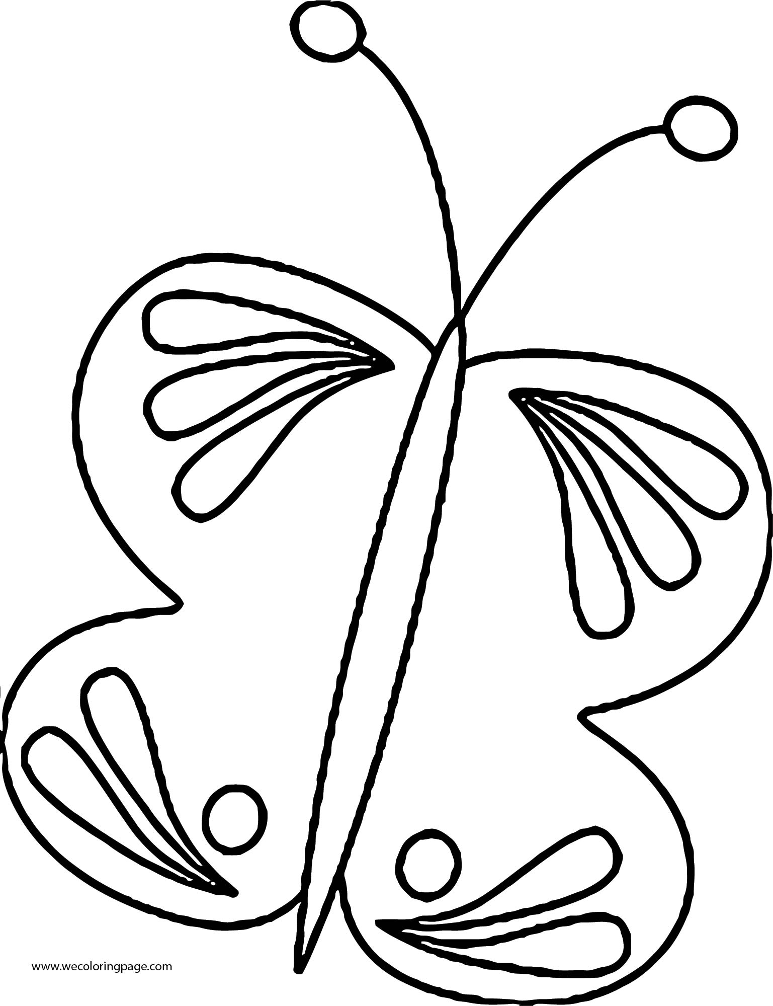 Butterfly Coloring Page 43