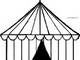 Circus Coloring Page Small
