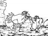 Disney Jungle Book Coloring Page 04