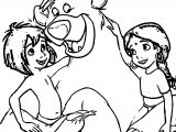 Disney Jungle Book Coloring Page 24