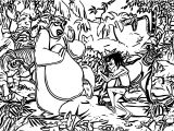 Disney Jungle Book Coloring Page 42