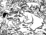 Disney Jungle Book Coloring Page 52