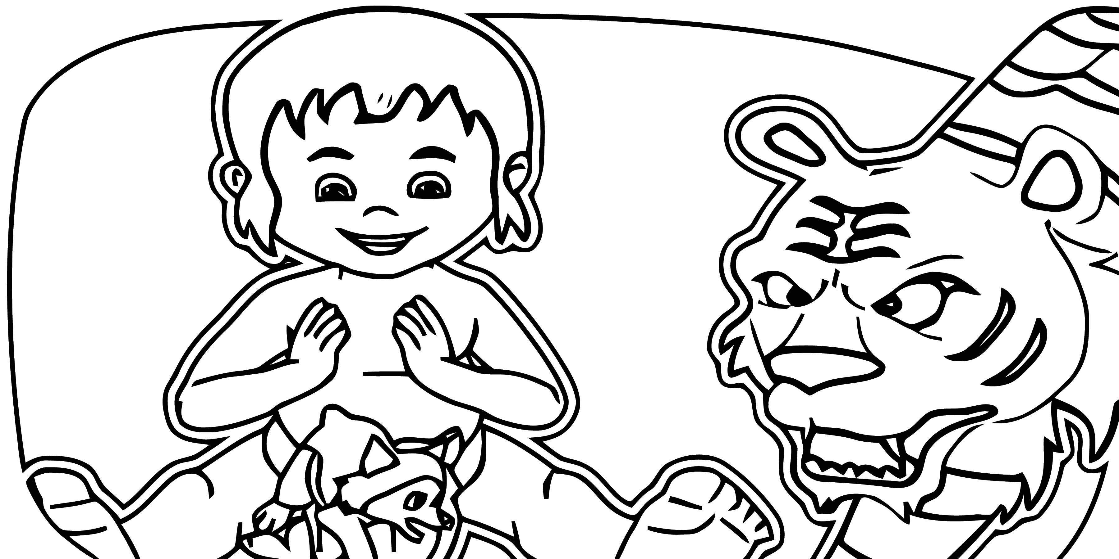 Disney Jungle Book Coloring Page 58