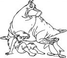 Disney The Little Mermaid 2 Return to the Sea Coloring Page 24