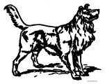 Dog Coloring Pages 001