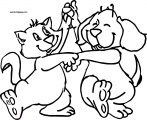 Dog Coloring Pages 005