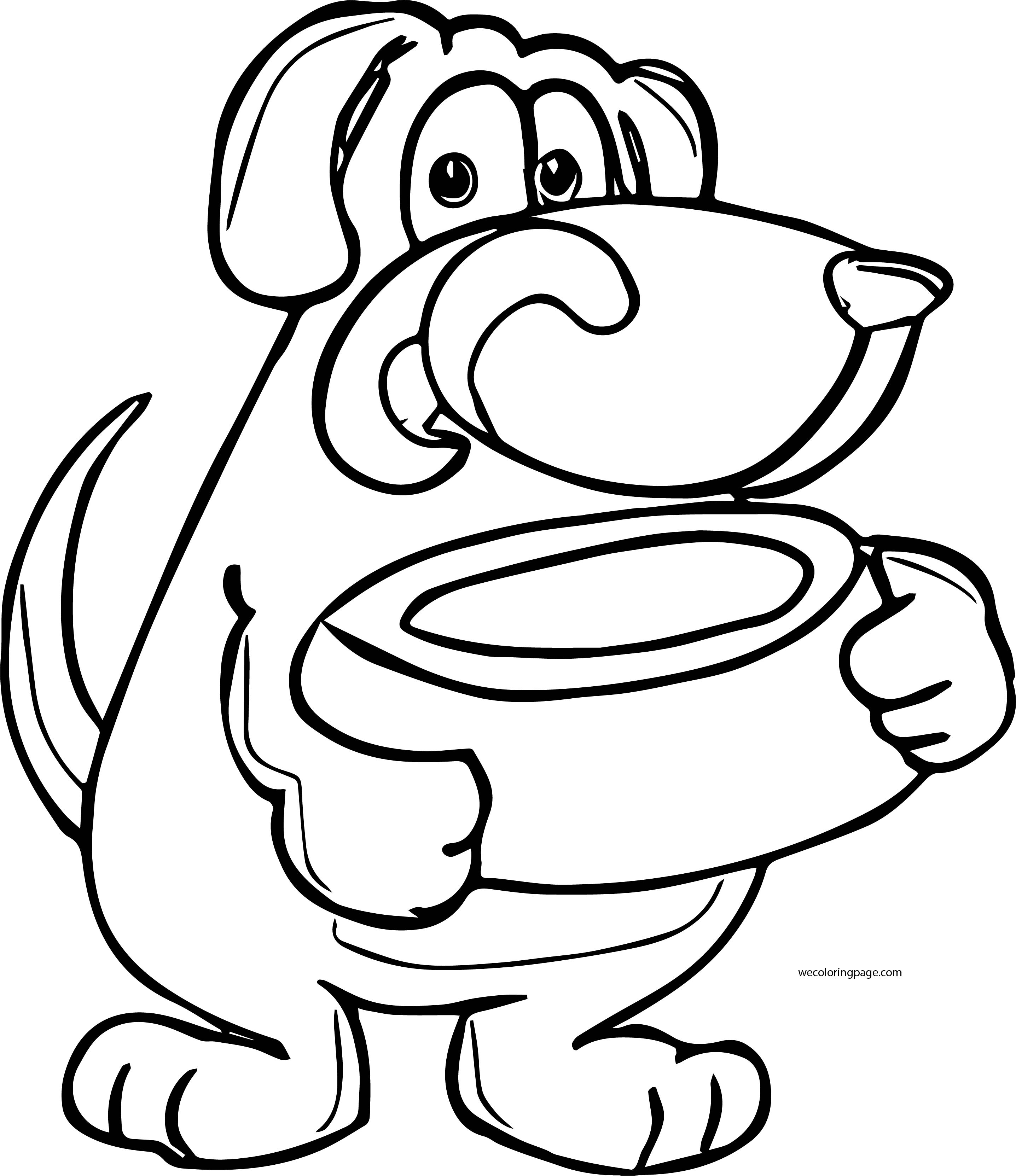 Dog Coloring Pages 029