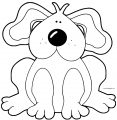 Dog Coloring Pages 042