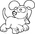 Dog Coloring Pages 047