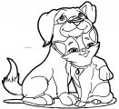 Dog Coloring Pages 049