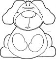 Dog Coloring Pages 050