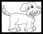 Dog Coloring Pages 055